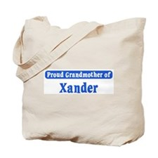 Grandmother of Xander Tote Bag