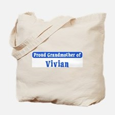 Grandmother of Vivian Tote Bag