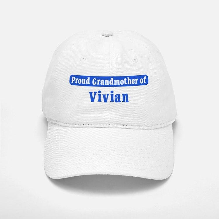 Grandmother of Vivian Baseball Baseball Cap