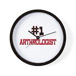 Number 1 ARTHROLOGIST Wall Clock