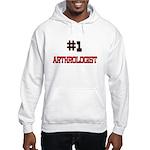 Number 1 ARTHROLOGIST Hooded Sweatshirt