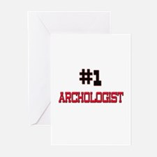 Number 1 ARCHOLOGIST Greeting Cards (Pk of 10)