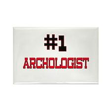 Number 1 ARCHOLOGIST Rectangle Magnet