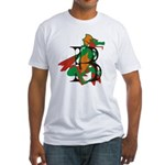 Dragon B Fitted T-Shirt