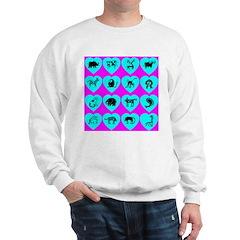 Zoo Hearts Sweatshirt