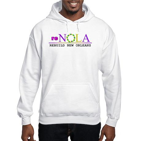 re-NOLA . Rebuild New Orleans Hooded Sweatshirt