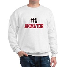 Number 1 ANIMATOR Sweatshirt