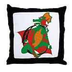 Dragon C Throw Pillow