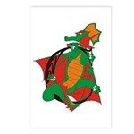 Dragon C Postcards (Package of 8)