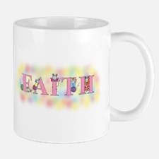 """Faith"" wtih Mice Mug"