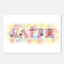 """""""Faith"""" wtih Mice Postcards (Package of 8)"""