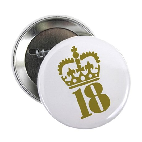 """18th Birthday 2.25"""" Button (10 pack)"""