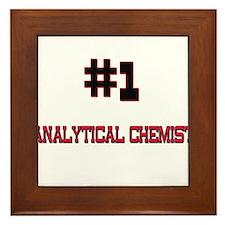 Number 1 ANALYTICAL CHEMIST Framed Tile