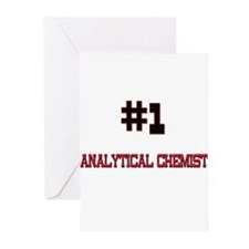Number 1 ANALYTICAL CHEMIST Greeting Cards (Pk of