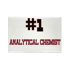 Number 1 ANALYTICAL CHEMIST Rectangle Magnet