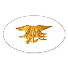 Navy Seals Insignia Oval Decal