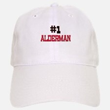 Number 1 ALDERMAN Baseball Baseball Cap