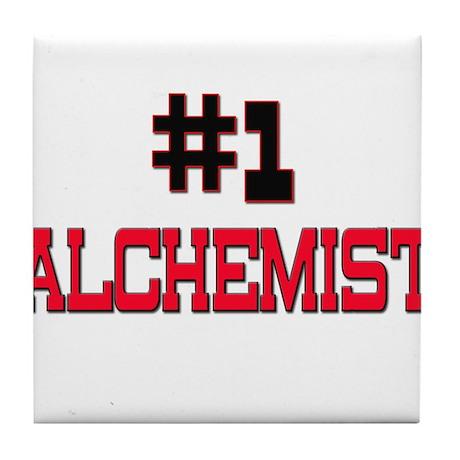 Number 1 ALCHEMIST Tile Coaster