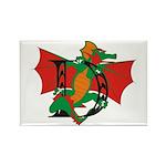 Dragon D Rectangle Magnet (10 pack)