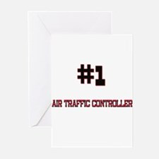 Number 1 AIR TRAFFIC CONTROLLER Greeting Cards (Pk