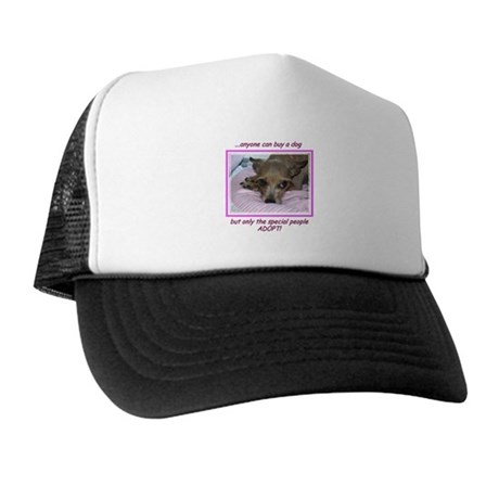 Only SPECIAL people adopt! Trucker Hat