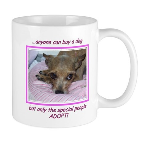 Only SPECIAL people adopt! Mug