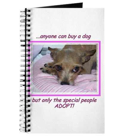 Only SPECIAL people adopt! Journal