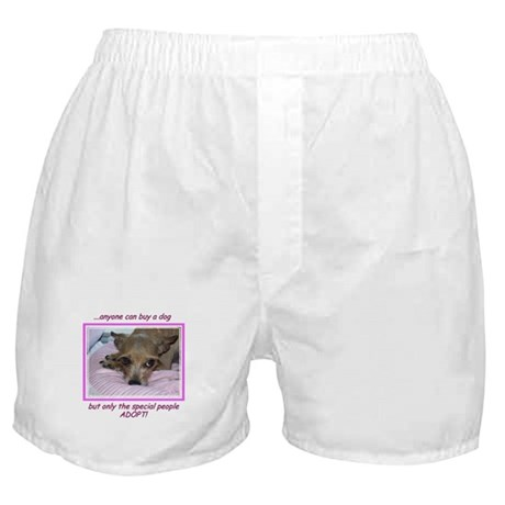 Only SPECIAL people adopt! Boxer Shorts