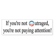 Outrage Bumper Stickers