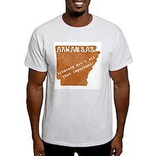 Vintage Arkansas Ash Grey T-Shirt