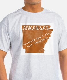 Vintage Arkansas Ash Grey T-Shirt