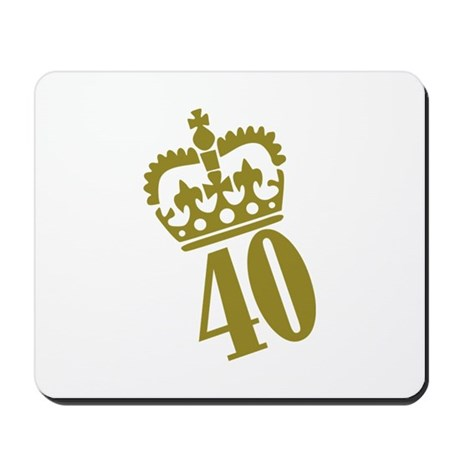 40th Birthday Mousepad