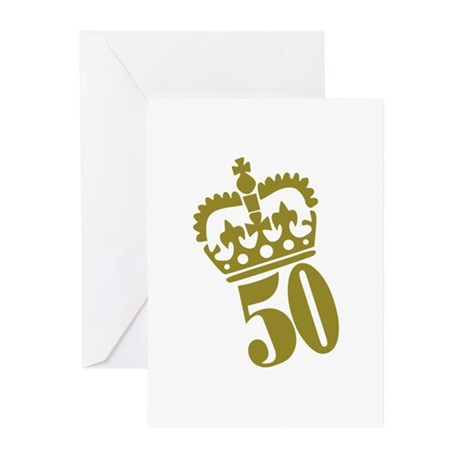 50th Birthday Greeting Cards (Pk of 20)