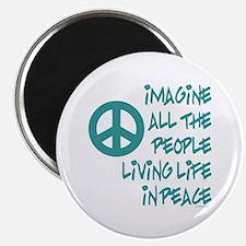 "Imagine Peace 2.25"" Magnet (10 pack)"