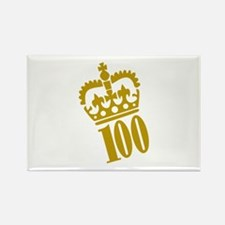 100th Birthday Rectangle Magnet