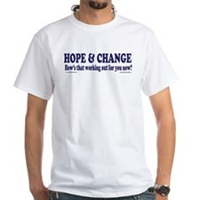 Hows that HOPE and Change Wor Shirt