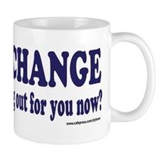 Hows that HOPE and Change Wor Mug