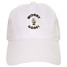 Worry Bee Gone Baseball Cap