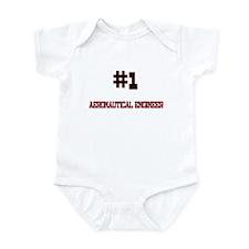 Number 1 AERONAUTICAL ENGINEER Infant Bodysuit
