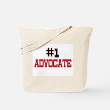 Number 1 ADVOCATE Tote Bag