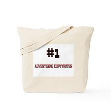 Number 1 ADVERTISING COPYWRITER Tote Bag