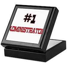 Number 1 ADMINISTRATOR Keepsake Box