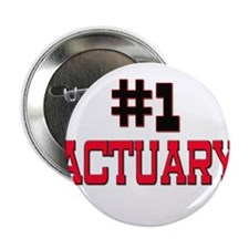 "Number 1 ACTUARY 2.25"" Button"