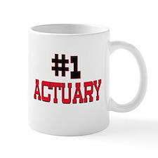 Number 1 ACTUARY Mug