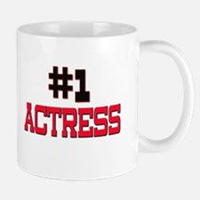Number 1 ACTRESS Mug