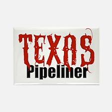 Texas Pipeliner Rectangle Magnet