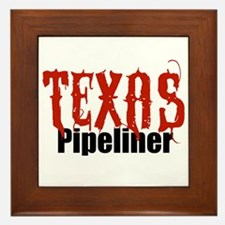 Texas Pipeliner Framed Tile