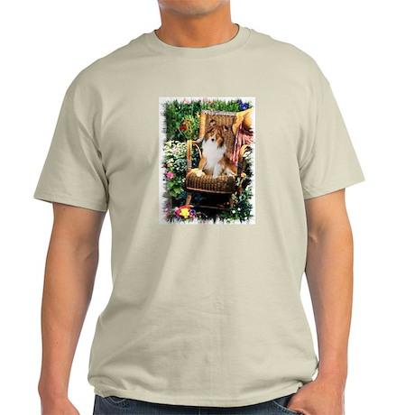 Sheltie Art Gifts Light T-Shirt