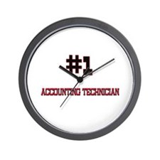 Number 1 ACCOUNTING TECHNICIAN Wall Clock
