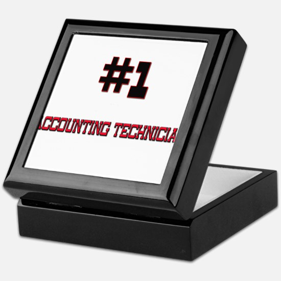 Number 1 ACCOUNTING TECHNICIAN Keepsake Box